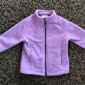 Lavender Columbia fleece jacket